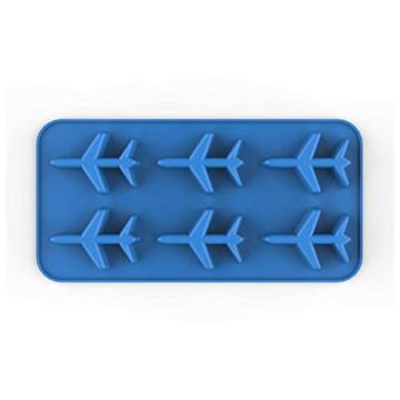 DonJordi Eiswürfelform in Form eines Flugzeug aus Silikon - Geeignet als Eisformen oder für Schokolade - 5