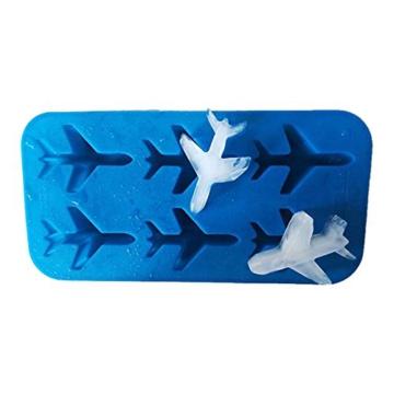 DonJordi Eiswürfelform in Form eines Flugzeug aus Silikon - Geeignet als Eisformen oder für Schokolade - 8