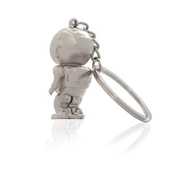 DonJordi Schlüsselanhänger Astronaut aus Metall - das ideale Geschenk für alle Weltraumfans & Kosmonauten - 2