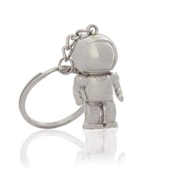 DonJordi Schlüsselanhänger Astronaut aus Metall - das ideale Geschenk für alle Weltraumfans & Kosmonauten - 1