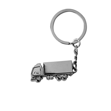 DonJordi Schlüsselanhänger Truck LKW aus Metall - Das Geschenk für alle Brummi Fahrer & Trucker - 4