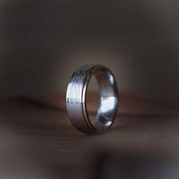 DonJordi Wolfram Ring Herren/Damen Keltisch 8mm mit keltischen Knoten Design für Hochzeit, Verlobungsring, Geburtstag und als Ehering - Rock your style! (52 (16.6)) - 6